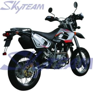 "Skyteam 50cc 4 Stroke Sm Super Moto Motorcycle (EEC Approval, 17""/17"")"