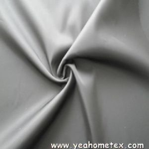 Poly Pongee Fabric With PU Coating Finish