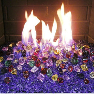 Fire Glass Beads Fire Pit pictures & photos
