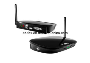 WiFi, Fanless Paypal Multi User Network Computing RAM 512MB to 1GB PC Station Fox-300h with Linux 2.6 OS and 100 MB WiFi pictures & photos