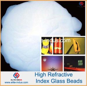 High Index Glass Beads (refractive index ND1.93) pictures & photos