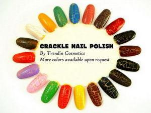 Crackle Nail Polish (TG0901A)