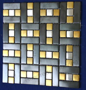 Wall Tile Stainless Steel Metal Mosaic (SM228) pictures & photos