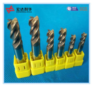 CNC End Mill Carbide 4 Flute for Milling Cutter pictures & photos