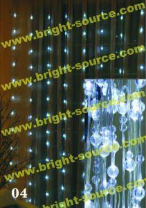 225L LED Curtain with Acrylic Ball
