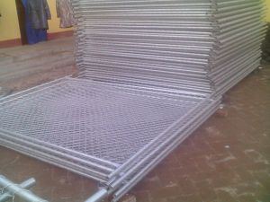 Heavy Galvanized Security Temporary Fencing pictures & photos