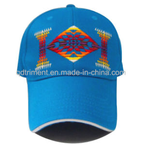 Washed Embroidery Sandwich Cotton Twill Leisure Baseball Cap (TWTB2EW) pictures & photos