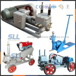 Electric Motor High-Pressure Piston Grouting Pump with Competitive Price pictures & photos
