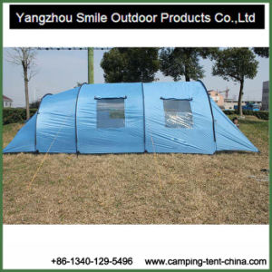 10 Person Canvas Bell Family Tunnel Camping Roof Top Tent pictures & photos