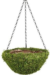 Fresh Green Round Moss Hanging Basket (16.5inch Diameter) pictures & photos