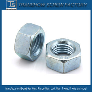 DIN ANSI JIS Bsw Carbon Steel Hex Nut pictures & photos