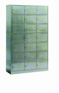 Stainless Steel Hospital Medical Cabinet for Shoes Storage (U-18) pictures & photos