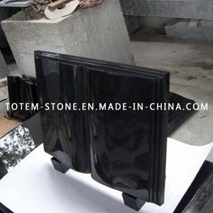 Cheap Price Granite Stone Book Shape Monuments / Lairstone / Headstone pictures & photos