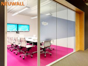 Office Partition Walls/Single Glass/Aluminum Framed pictures & photos