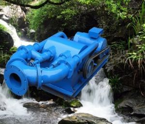 (10kw-100kw) Dual Wheel Dual Jet Impact Type Water Turbine Generator pictures & photos