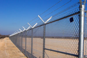 Galvanized Chain Link Wire Mesh Fence pictures & photos