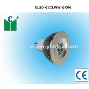 3W LED Spotlight (ELSD-03CLWW-BX06)