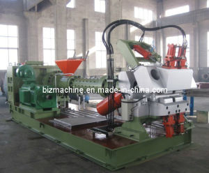 cold feeding rubber extruder machine