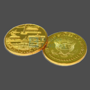 Customized Commemorative Gold Coins (HB-CC-0013)