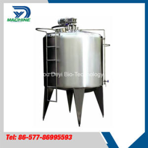 Food Grade Stainless Steel Milk Storage Tank pictures & photos
