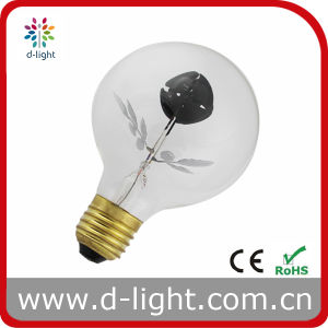 G80 E27 Rose Flower Flame Bulb pictures & photos