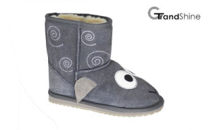 Kids New Arrival Suede Snow Boots Lovely Lamb pictures & photos