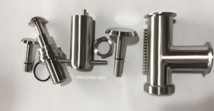 Sanitary Stainless Steel Tee Pressure Relief Valve pictures & photos