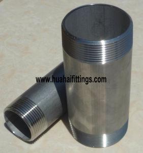 Supply DIN2999 Hot-Galvanized Steel Two Thread Barrel Nipple