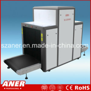 Conveyor Speed K10080 X Ray Baggage Scanner for Train Station pictures & photos