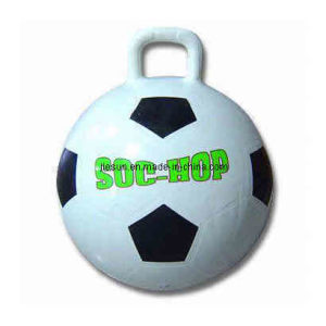 Hopper Ball, Soccer Ball Shape, Rectangle Handle, PVC+ATBC Material (B05305) pictures & photos