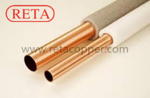 Pair Insulation Copper Pipe for Air Conditioning pictures & photos
