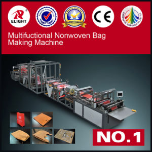 Fully Automatic Loop Handle Nonwoven Bag Making Machine pictures & photos