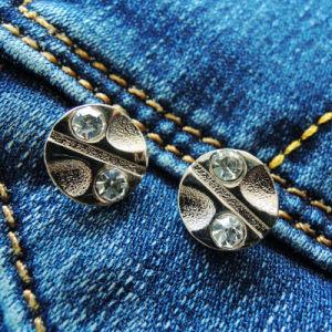 Diamante Jeans Metal Rivet for Garment (RV00286) pictures & photos