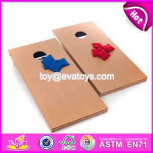 High Quality Outdoor Bean Bag Toss Games Wooden Cornhole Boards W01A206 pictures & photos