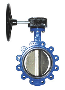 Butterfly Valve with Central Line