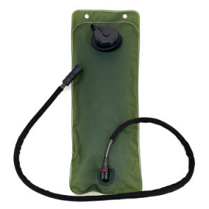 Camping Hiking Climbing 3L Military Green Water Bladder Bag pictures & photos