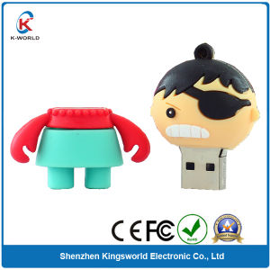 PVC Cartoon USB Flash Drive 32GB pictures & photos