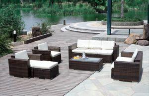 Outdoor / Garden / Patio / Rattan Sofa (6080) pictures & photos