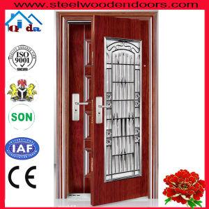 Moldova Style Steel Door (QD-SD013)