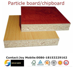 China melamine laminated board chip board particle board for Particle board laminate finish