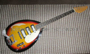 F Hole Design OEM Quality Teardrop Electric Guitar pictures & photos
