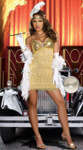 Vaudeville Vixen Flapper Sexy Costume
