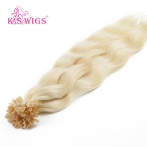Competitive Price U Tip Keratin Hair Extension Remy Human Hair pictures & photos