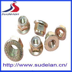 DIN 6923 Steel Hex Flange Nut Dimension From M3-M52