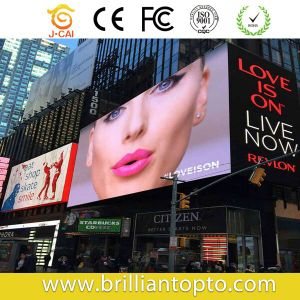 Large Viewing Angle Outdoor Waterproof P6 SMD LED Display pictures & photos
