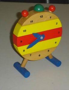 Wooden Toys - Alarm Clock (ZYYB-0781)