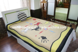 Printing Virgin Wool Blanket (NMQ-WB003) pictures & photos
