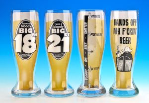 Handmade Printed Giant Beer Glass (BI-B14) pictures & photos