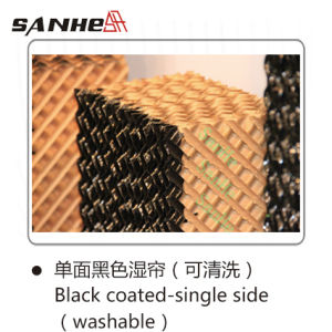 Sanhe Evaporative Cooling Pad (Black-coated) -Lee pictures & photos