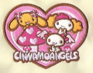 Cartoon Embroidery Emblem (9981)